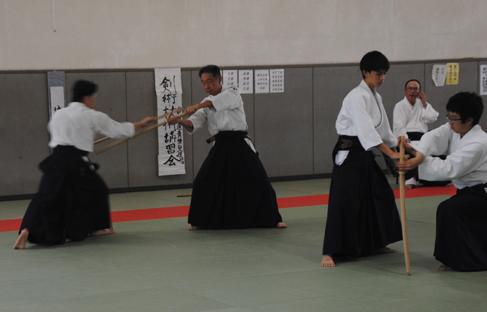 合気道 剣術・杖術体験会